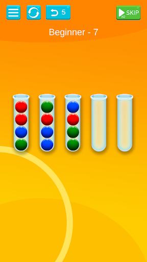Ball Sort - Bubble Sort Puzzle Game apkdebit screenshots 3