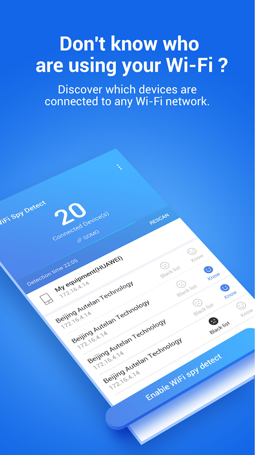 Network Protector—Security & Speed Test- screenshot