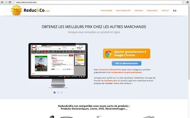 ReducAndCo.com chrome extension