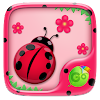 Cute Ladybug GO Keyboard Theme
