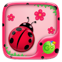 Cute Ladybug GO Keyboard Theme icon