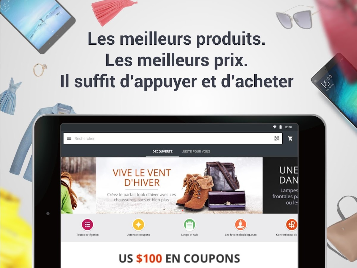 AliExpress Shopping – Capture d'écran