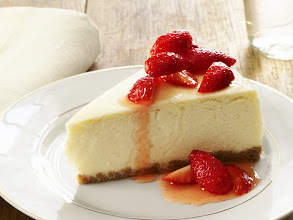 Photo: Get Food Network Magazine's recipe for Low-Fat Cheesecake >> http://ow.ly/gKQIt