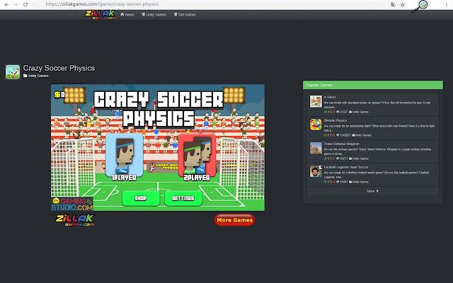Crazy Soccer Physics