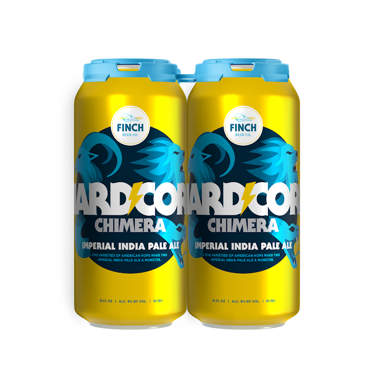 Logo of Finch Beer Co's Hardcore Chimera Double IPA