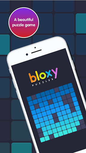 Bloxy Puzzles - screenshot