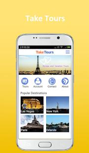 TakeTours - náhled