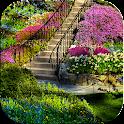 花园和公园 拼图 icon