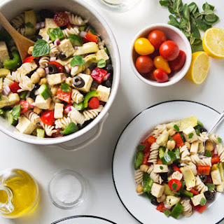Greek Pasta Salad With Feta Cheese Recipes.