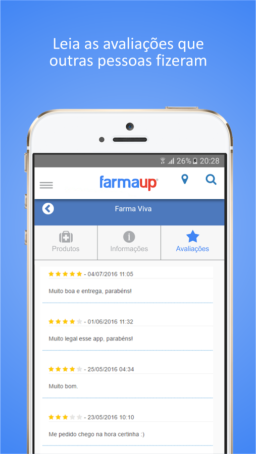 Farmaup - Delivery de Remédio: captura de tela