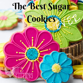 The Best Sugar Cookies Ever.