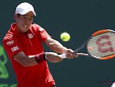 Kei Nishikori kan door aanslepende schouderblessure niet spelen op European Open