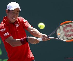 Voormalig nummer 4 van de wereld Kei Nishikori geeft forfait voor European Open