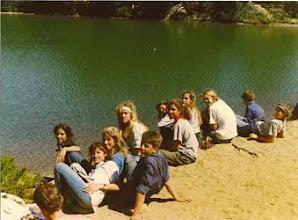 Photo: 1989 - Bariloche, Campamento anual Tropa, Cabaña y Postas Laguna Verde