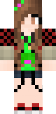bajan Canadian girl with frog top