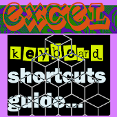 Excel keyboard guide (quick time saver tips)