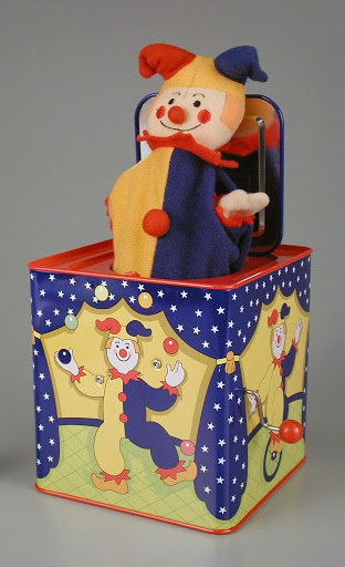 Jack-in-the-box:Jester Jack in the Box