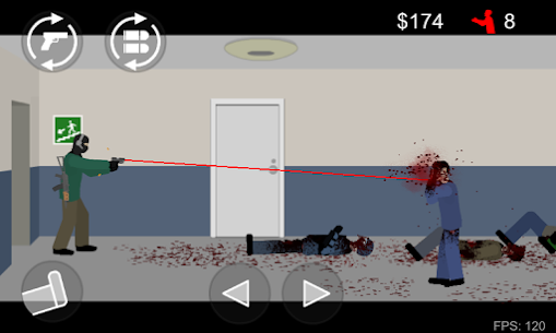 Flat Zombies Defense & Cleanup MOD (Free Purchases) 6
