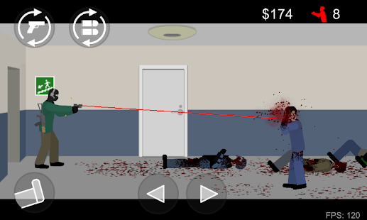 Flat Zombies: Cleanup & Defense- screenshot thumbnail