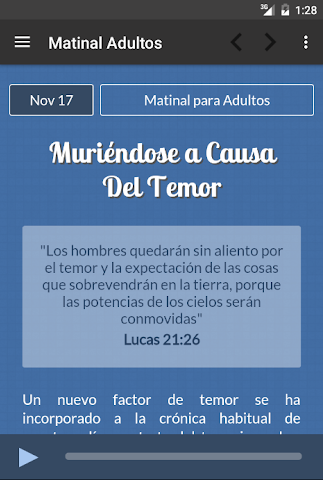 android Ministerio 7Day (App Oficial) Screenshot 19