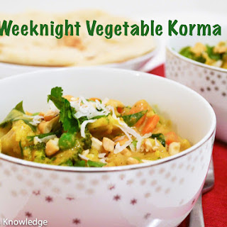 Weeknight Vegetable Korma
