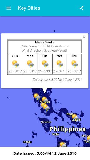 DOST PAGASA Mobile App  screenshots 3