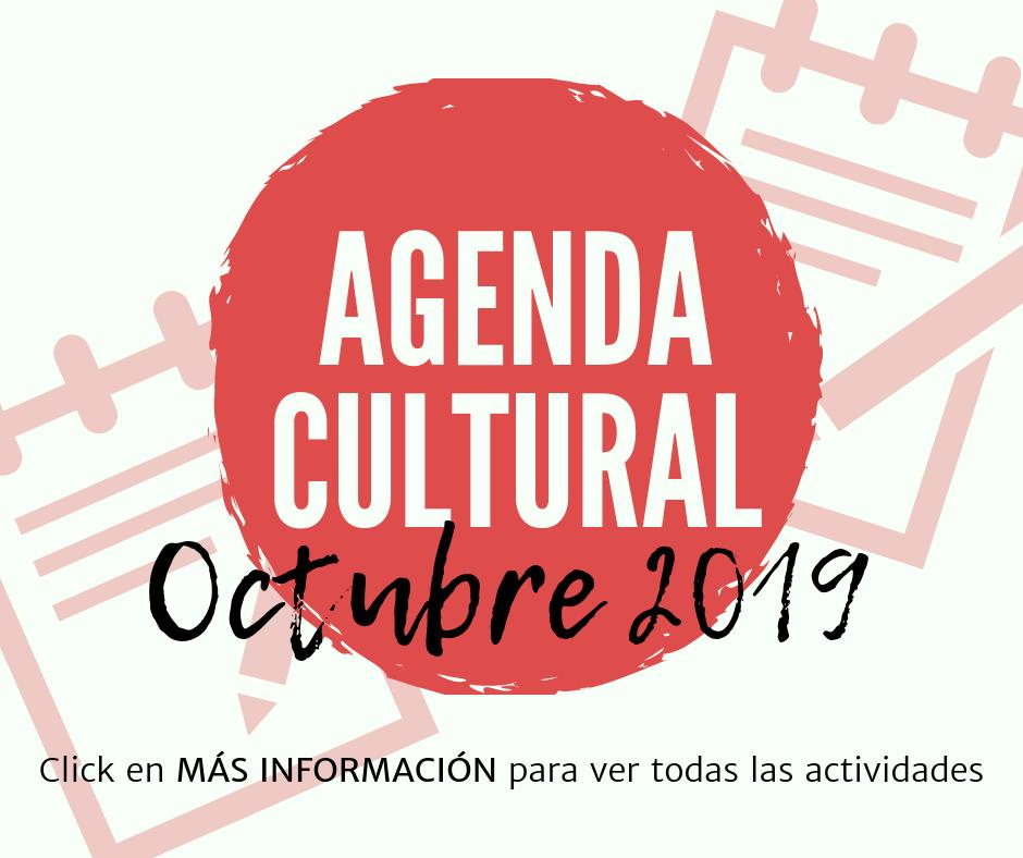Agenda Cultural - Octubre 2019