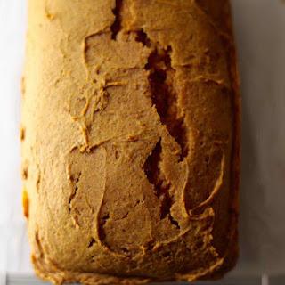 Low Sugar Pumpkin Bread with Sucanat.