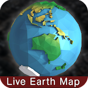 earth map live real global satellite navigation