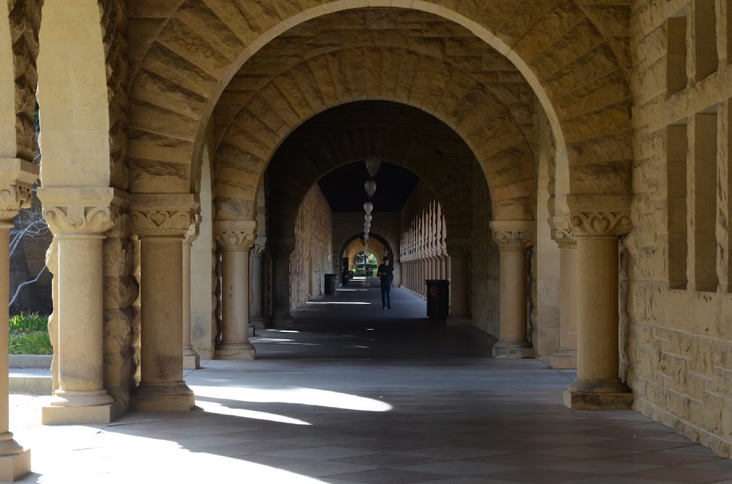 Stanford walking area