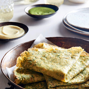 Indian Chickpea Crepes