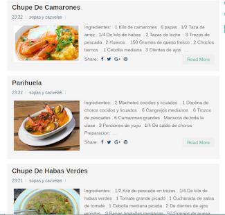 Recetas Del Peru Y Del Mundo - náhled