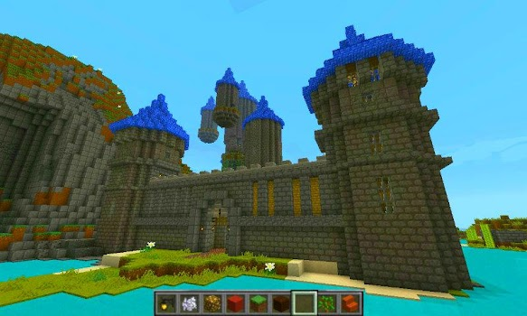 Castle of Mine Block Craft
