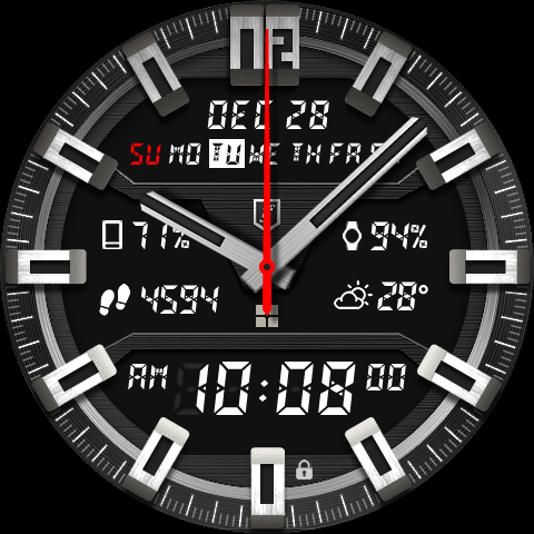 Shield Watch Face- screenshot