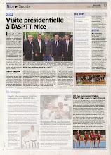 Photo: Nice-matin paru le 18 juin 2014