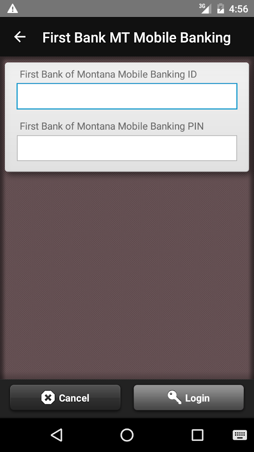 First Bank MT Mobile Banking- screenshot