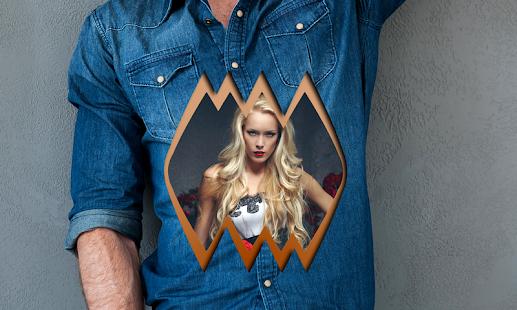 tričko rámy editor - náhled