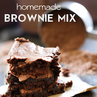 Homemade Brownie Mix.
