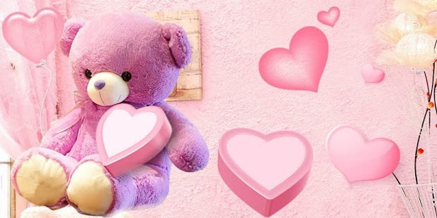 Pink cute bear wallpaper android apps on google play pink cute bear wallpaper screenshot thumbnail voltagebd Image collections