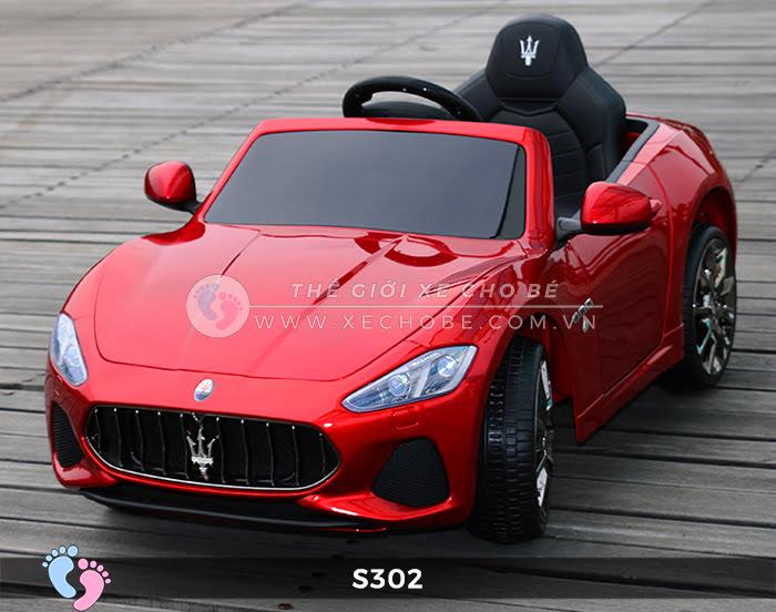 xe oto dien cho be Maserati S302 18
