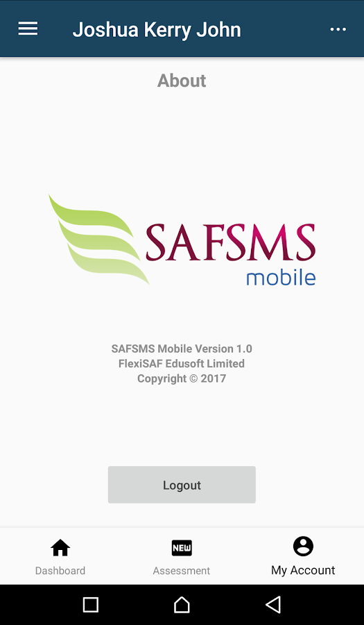 SAFSMS Mobile- screenshot