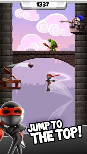 NinJump DLX: Endless Ninja Fun screenshot 2