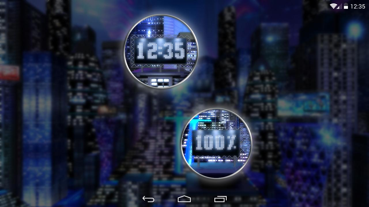 Space City Lite 3D LWP- screenshot