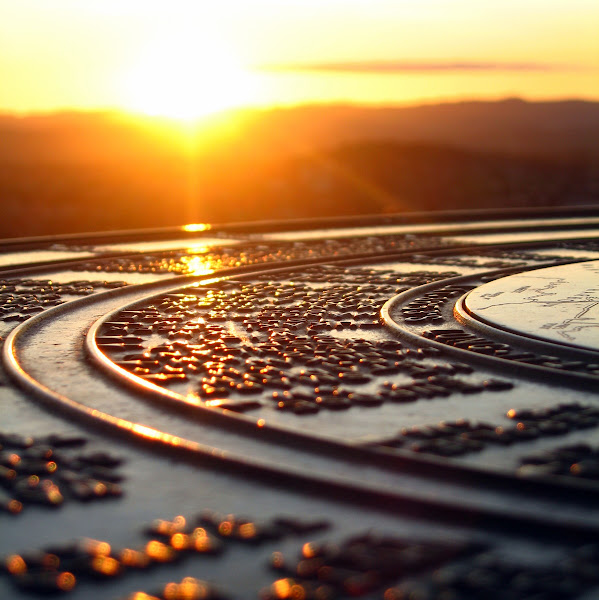 Photo: Sunset reflection at scenic lookout point, Auckland, New Zealand  probably to late for #SunsetSaturday, but still in time for #SquareSunday by +Matt Soave and #SOOCSunday by +John Kosmopoulos (except for the 1:1 crop)