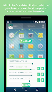 IV Calculator for Pokémon GO- screenshot thumbnail