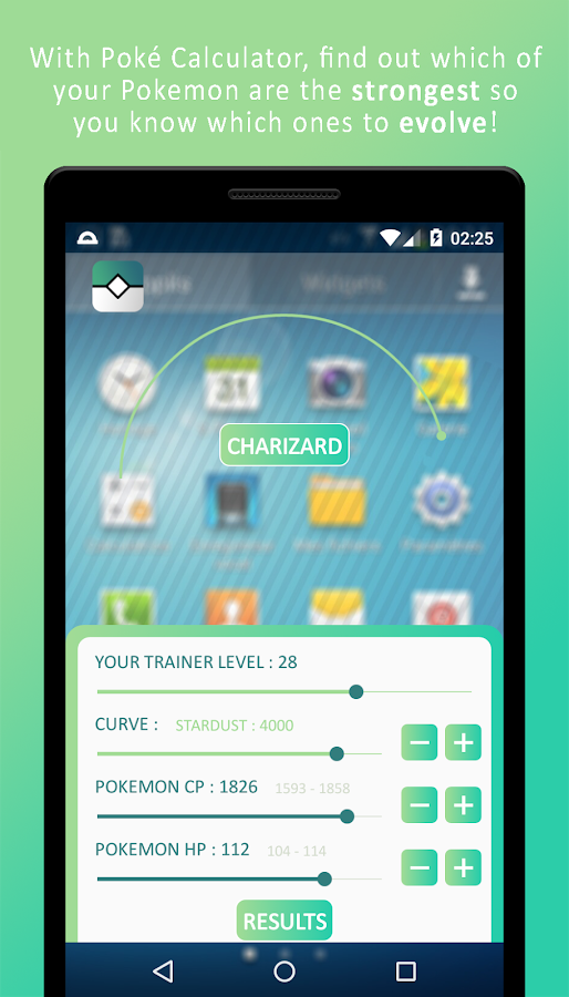 IV Calculator for Pokémon GO- screenshot