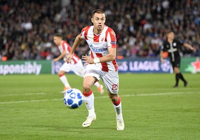 Anderlecht a un défenseur de l'Etoile Rouge de Belgrade dans son viseur