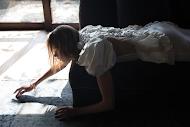 Simone Rocha Spring 2018 Puff Sleeve Dress