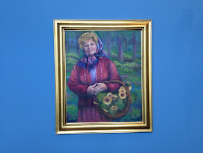 Photo: Oil painting by Sydelle Sher Art exhibition at Weissman Center