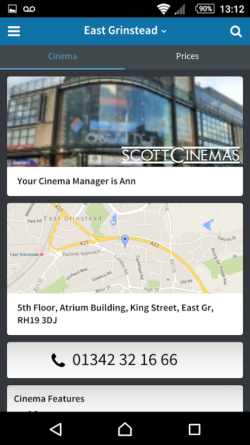 ScottCinemas- screenshot